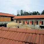 Reiterhof, Errichtung Bild 1