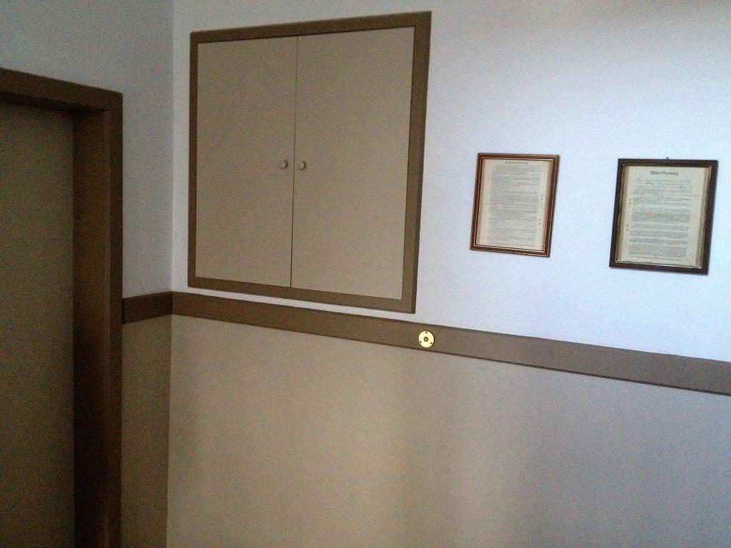 Treppenhaus frisch renoviert