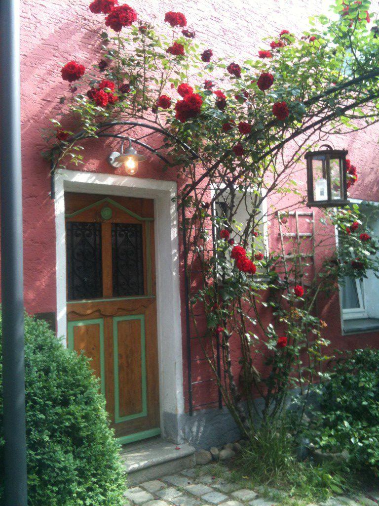 Romantischer Eingangsbereich