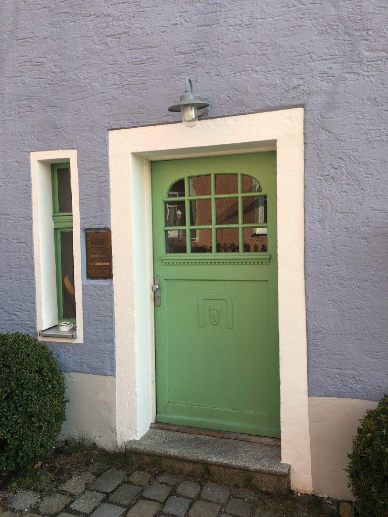 Haustüre zur Wohnung
